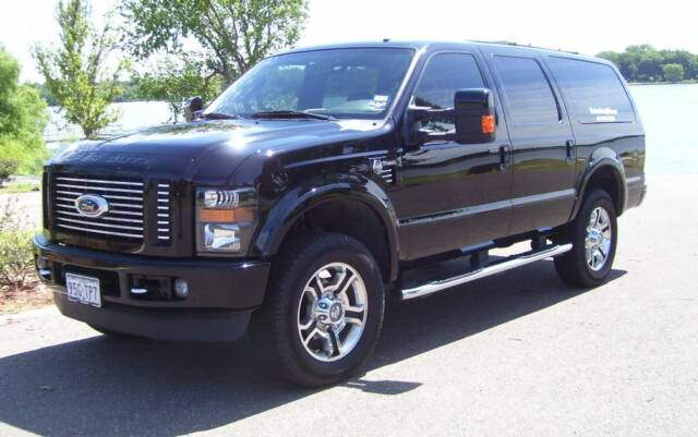 Powerstroke Ford Excursion >> 7.3 Excursion, 6.0 grille, and 08-09 headlights all in one..... - Ford Powerstroke Diesel Forum