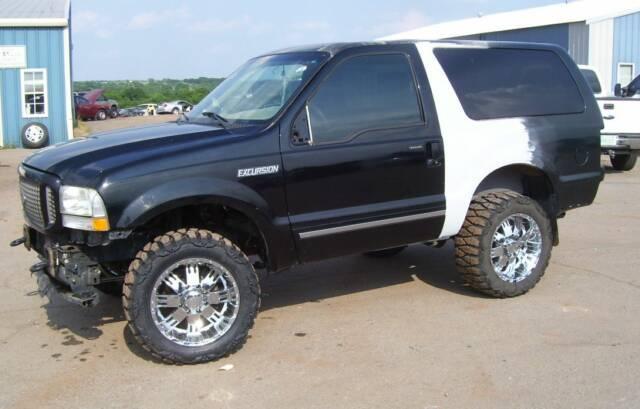 2 Door Excursion Anyone Ford Bronco Forum